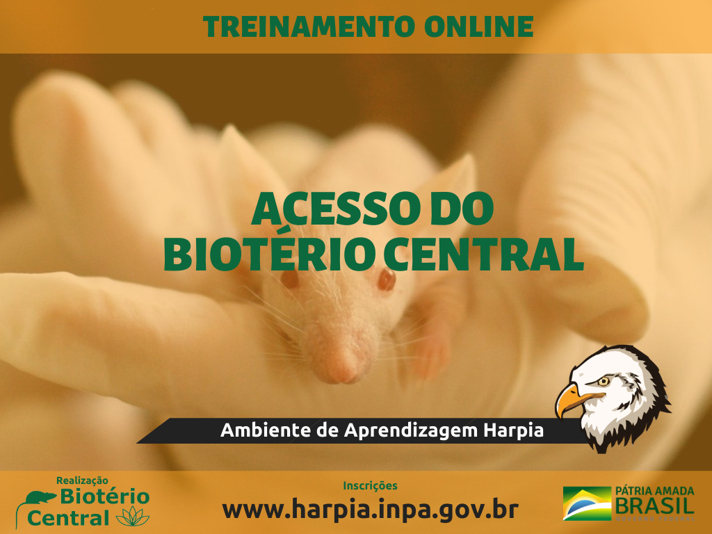 Treinamento de Acesso ao Laboratório Temático Biotério Central